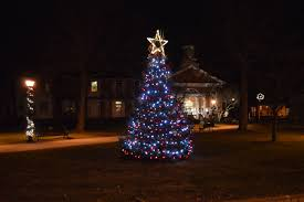 Small Decorated Christmas Trees To Send by Christmas Downtown Bedford Inc