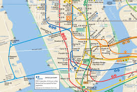 Subway Map by A More Complete Transit Map For New York U0026 New Jersey