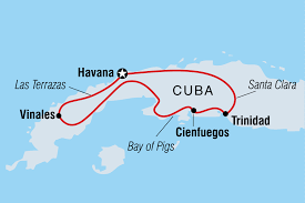 Havana On Map Hola Cuba People To People For Us Citizens Overview Hola Cuba