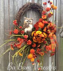 fall wreaths 15 fabulous fall wreath ideas garden club