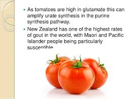 tomatoes and gout goutpal gout facts