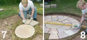 Circular Patio Kit by How To Lay A Paving Circle Homebuilding U0026 Renovating