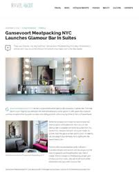 in suites gansevoort meatpacking nyc siren clients in the news