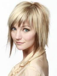 layered with blunt bangs layered hairstyles with bangs hairstyles