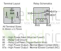 12v changeover relay wiring diagram gooddy org