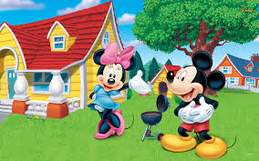 mickey mouse house background desktop hd background wallpapers
