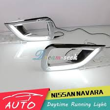 drl for nissan navara np300 2015 2016 led daytime running light