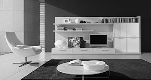 Modern Bookcase White by Decorations Attractive Contemporary Tv Wall Unit Design Ideas