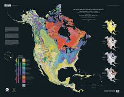 Terrain Map Of Usa by The North America Tapestry Of Time And Terrain Usgs I Map 2781