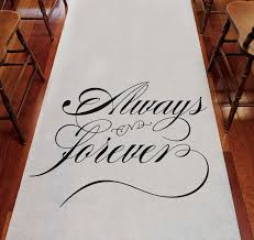 aisle runner wedding aisle runners personalized aisle runners