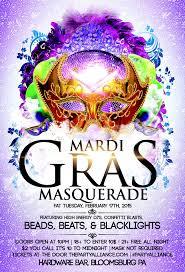 mardi gras masquerade mardi gras masquerade bloomsburg pa 18 to enter 2 17 15