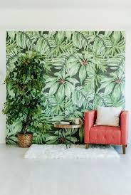 221 best anewall decor a new wall images on pinterest banana leaf large wall mural watercolor mural martinique wallpaper x anewall etsy