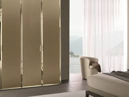 sliding wardrobes wardrobe doors built in modern taupe glass