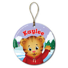 Barney Christmas Ornament The Official Pbs Kids Shop Daniel Tiger U0027s Neighborhood Hello