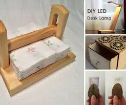 Diy Led Desk Lamp by Woodworking