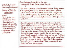 the gold standard review cross sentiment scarlet pen
