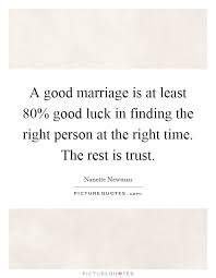 wedding quotes luck trust marriage quotes sayings trust marriage picture quotes