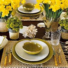 Yellow Table L A Great Giveaway By Callahan And Setting A Beautiful Table