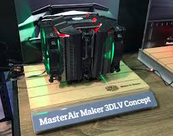 cooler master shows concept coolers closed loop heat pipe and