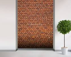 brick wall distressed wallpaper wall mural wallsauce sweden