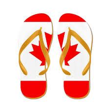 Lion Flag Royal Lion Men U0027s Canadian Canada Flag Hd Rubber Flip Flops Sandals