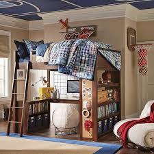 Pb Teen Bedrooms Sleep Study Loft Pbteen
