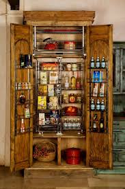 real wood kitchen pantry cabinet custom built wooden pantry carved reclaimed wood doors
