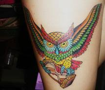 owl tattoo images on favim com
