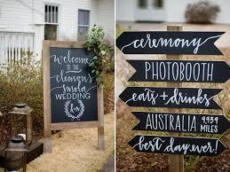 Chalkboard Wedding Program The Sonnet House Best Of 2014the Sonnet House Wedding And