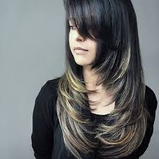hair style angled toward face best 25 face framing layers ideas on pinterest medium layered