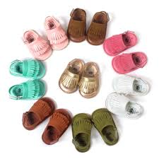 romirus baby shoes sandals casual fashion pu tassel sandals for