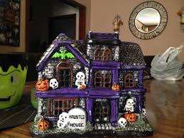 hawthorne village halloween haunted house collectibles ceramic haunted house decoration
