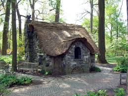 faerie cottage in the enchanted woods at winterthur gardens in