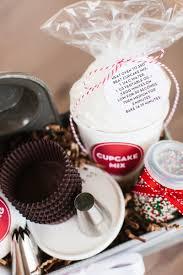 cupcake gift baskets cupcake baking kit the tomkat studio