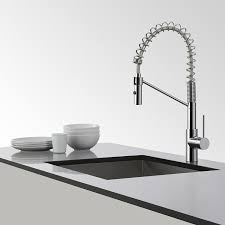 kraus kitchen faucets kraus kpf 2630ch modern oletto single lever commercial style