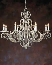 Gold Leaf Chandelier Silver And Gold Chandelier Silver And Gold Leaf Chandelier Silver