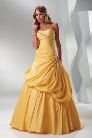 empire linie tragerlos knielang tull brautjungfernkleid mit drapiert p662 die besten 25 gelbe ballkleider ideen auf gelbes