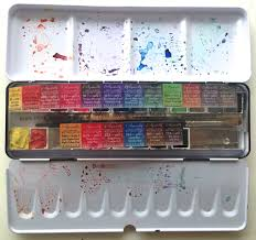 sennelier watercolour travel box review u2013 magny tjelta