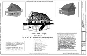 cabin blueprints free plan 178 custom cabin design free house plan reviews