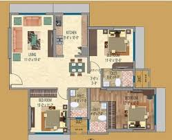3 bhk 1946 sq ft apartment for sale in acme oasis at rs 12000 0