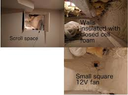 crawl space ventilation fan mold combatting moisture in crawl space after venting window is