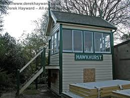 signal shed hawkhurst station closed derek hayward