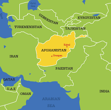 Iran On World Map Afghanistan World Map Grahamdennis Me