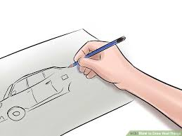 how to draw real things with pictures wikihow
