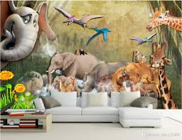 Wall Mural Wallpaper by 3d Room Wallpaer Custom Mural Photo Animal Background Wall