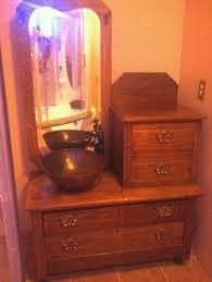 Dresser Turned Bathroom Vanity Photos Of Antique Dressers Turned Into Bathroom Vanities Of