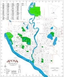 Map Of Minnesota Cities City Map Anoka Mn