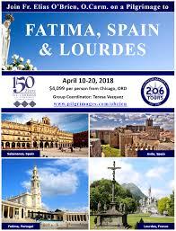 pilgrimage to fatima a pilgrimage to fatima spain lourdes with fr elias