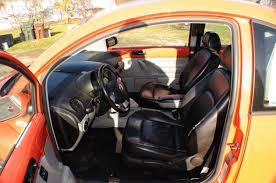 2006 volkswagen beetle orange hatchback coupe sale