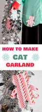 how to make holiday cat garland garlands cat and holidays